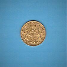 """Kaiserreich: 20 Mark Hamburg 1893 J """" Stadtwappen """" J. 212 Gold"""