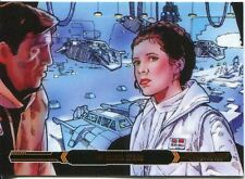 Star Wars Empire Strikes Back Illustrated Bronze Parallel Base Card #24