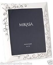 "MIKASA LOVE STORY 8"" x 10"" PORCELAIN PHOTO FRAME,VALENTINE, CHRISTENING, WEDDING"