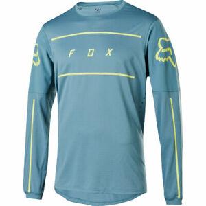 Fox Racing Flexair Long Sleeve L/S Fine Line Jersey Light Blue
