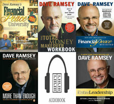🎤🎵Dave Ramsey Audio books KIT 🎤🎵 - The Total Money Makeover ++ KIT