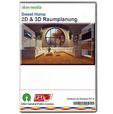 3D & 2D Raumplaner, Zimmer,- Inneneinrichtung Planen,  Grafik Software