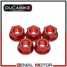 Kit Dadi Flangia Portacorona Rosso 5DSB01A Ducabike Ducati Hypermotard 796 2012