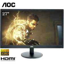 "27"" AOC E2770SH LED FHD Gaming/Office Monitor 1920x1080 16:9"