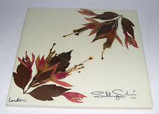 Floral Craft of London - Hand Made Tile - Real Flowers - Fully Signed by Artist.