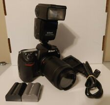 Nikon D300s DSLR Digital Camera w/Lens & Speedlight LOW SHUTTER COUNT