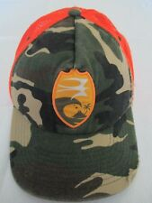 Quiksilver M Field Camo Adjustable Trucker Mesh Baseball Cap Hat Great Condition