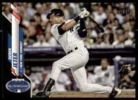2020 Update Base Black #U-257 Derek Jeter /69 - New York Yankees