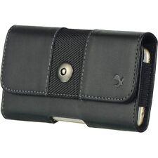 New Black Wallet Beltclip Cellphone Case Cover Pouch For One Plus 6 / T5 / 5