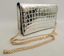 Stella McCartney Silver shoulder bag clutch New RRP520GBP Falabella