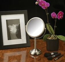 Makeup Vanity Mirror with 10x Magnification/ 6-inch reversible