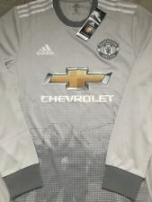 de87f260399 RARE Manchester United Man Utd 2017 18 Player Issue Third Shirt Size 5 L
