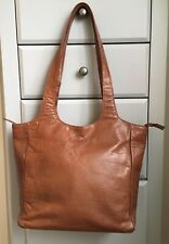 ROWALLAN  Large Vintage Soft Supple Leather Slouch Hobo Tote Sac Bag