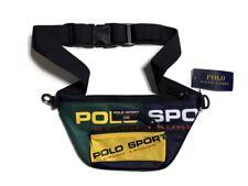 Polo Sport Ralph Lauren Multicolor Fanny Pack Waist Bag -  Navy, Green & Yellow