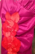 Sequin Hearts Dress Women's Juniors 9 Formal NWT Pink Lined One Shoulder