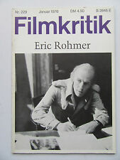 Critique NR 229, janvier 1976, Eric rohner, Nestor Almendros