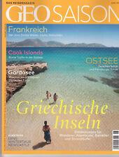 Geo SAISON Nr. 6 Juni: 2018 Griechische Inseln u.a. Das Reisemagazin, neuwertig
