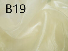 Bxx Thick Sparkle Crystal Organza Sheer Fabric Bridal dress Decorative Material