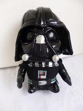 "Star Wars Darth Vader Soft Sculpture 7"" Black, Vinyl* Helmet; Cape; Great Detail"