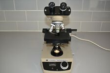 Vickers Instruments Binocular Microscope M15 Vintage FULLY WORKING FLOATING BED