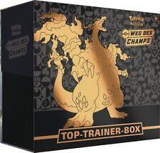 Pokemon Weg des Champs Top Elite Trainer Box | Glurak V NEU & OVP | Vorverkauf