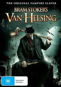 BRAND NEW Bram Stoker's Van Helsing (DVD, 2021) *PREORDER R4 Movie