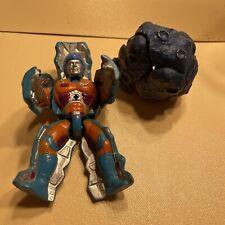 VTG MOTU Masters of the Universe He-Man Rokkon Stonedar 2 Action Figures