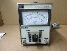 kikusui ac voltmeter # avm13