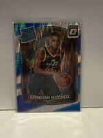 2017-18 Donruss Optic Donovan Mitchell Rated Rookie #188 Silver Shock Prizm RC
