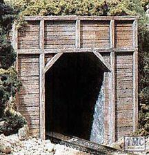 C1154 Woodland Scenics N Gauge Tunnel Port Timber Sgl 2ea