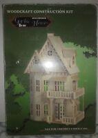 Woodcraft Construction Kit Gothic House 3D Wood Puzzle DH-001 NIB