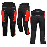 Motorbike Motorcycle Textile Waterproof 600D Cordura CE Approved Trousers Pants