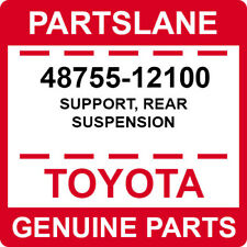 48755-12100 Toyota OEM Genuine SUPPORT, REAR SUSPENSION