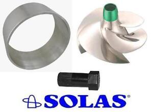 Seadoo Rxp/Rxt / GTX Usure Bague Acier Inoxydable Solas Pompe Outil SRX-CD-15 /