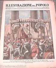 L ILLUSTRAZIONE DEL POPOLO Papa Pio XI Mobili antichi Leggende di Val Gardena e