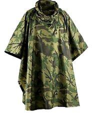WATERPROOF WATERPROOF MILITARY PONCHO camo army smock jacket bivi basha shelter