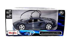 Maisto Lamborghini Aventador LP700-4 Blue 1/24 Diecast Car 31210BL