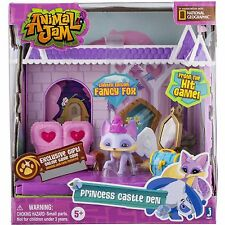 Animal Jam Princess Castle Den Playset  with Fancy Fox National Geographic New!