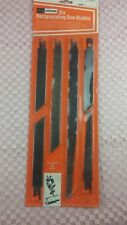 Sears Craftsman (pack of 6) Reciprocating blades precision ground quality #BOX3