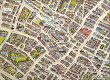 HPY Cityscapes Street Map of Worcester 400 Piece Jigsaw Puzzle 470mm x 320mm