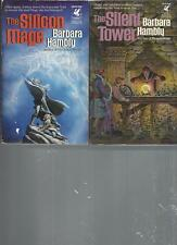 BARBARA HAMBLY - THE SILICON IMAGE - A LOT OF 2 BOOKS