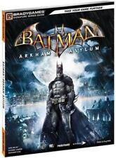 Batman: Arkham Asylum Signature Series Guide Bradygames Strategy Guides