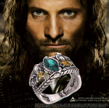 Usa New Lord of The Rings Jewelry Aragorn's Ring of Barahir Platinum Plated Ring