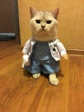 Funny Doctor Nurse Costume Cat Puppy Dogs Cotton Clothes Cosplay Suit For Pets
