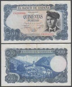 Spain, 500 Pesetas, 1971, VF+++, P-153