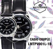 Casio Couple Watch LTPV001L-1B MTPV001L-1B