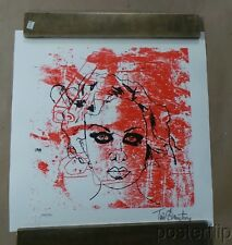 Misconceptions of Hell Silkscreen Print by Tim Armstrong Signed xx/150