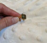 Sundance catalog jewelry ring Checked Labradorite Size 6