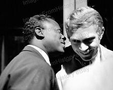 8x10 Print Steve McQueen Miles Davis 1963 #SM9