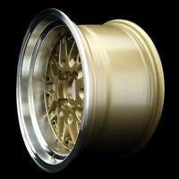 "ROTA WHEELS KENSEI 15"" DIAMETER GOLD SIZE&OFFSET 15x8 +0 PCD 4x114.3"